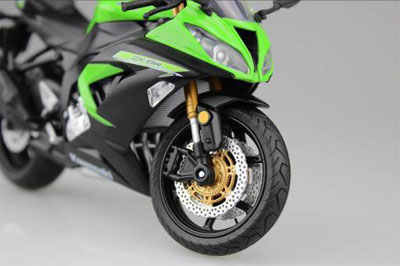 1/12 Complete Motorcycle Model Kawasaki Ninja ZX-6R 2014 (Lime Green)(Released)1/12 完成品バイク Kawasaki Ninja ZX-6R 2014(ライムグリーン)Accessory