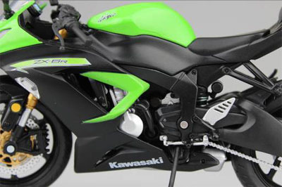 1/12 Complete Motorcycle Model Kawasaki Ninja ZX-6R 2014 (Lime Green)(Released)1/12 完成品バイク Kawasaki Ninja ZX-6R 2014(ライムグリーン)Accessory