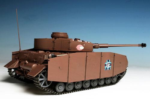 [Bonus] Girls und Panzer 1/35 Tank IV Ausf. D Kai (H Type) Ankou Team Gekijouban desu! Plastic Model(Pre-order)【特典】ガールズ&パンツァー 1/35 IV号戦車D型改(H型仕様) あんこうチーム 劇場版です! プラモデルAccessory
