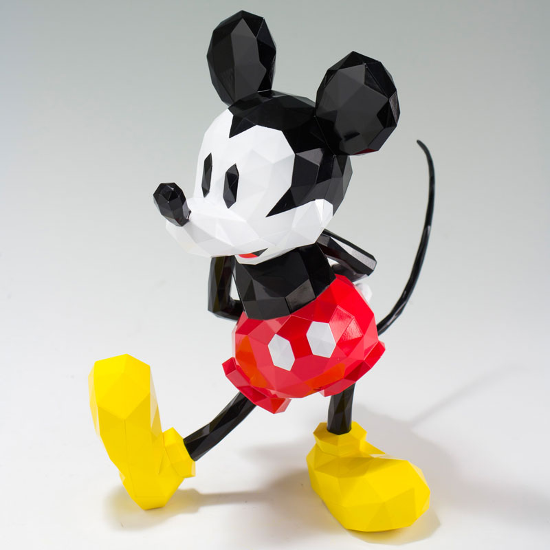 POLYGO - Mickey Mouse(Pre-order)POLYGO Mickey Mouse(ポリゴ ミッキーマウス)Scale Figure