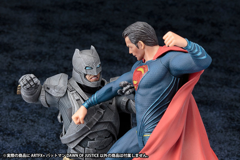 ARTFX+ - Batman vs Superman Dawn of Justice: Batman DAWN OF JUSTICE 1/10 Complete Figure(Pre-order)ARTFX+ バットマン vs スーパーマン ジャスティスの誕生 バットマン DAWN OF JUSTICE 1/10 完成品フィギュアScale Figure