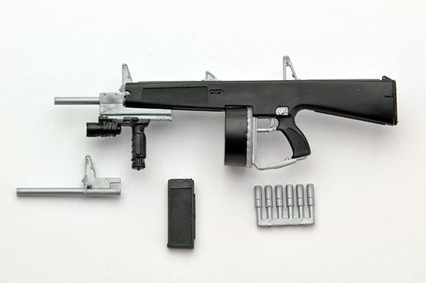 LittleArmory LA018 1/12 AA-12 Type Plastic Model(Pre-order)リトルアーモリー LA018 1/12 AA-12タイプ プラモデルScale Figure