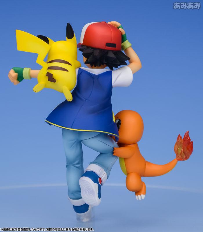 G.E.M. Series - Pokemon: Ash & Pikachu & Charmander Complete Figure(Pre-order)G.E.M.シリーズ ポケットモンスター サトシ&ピカチュウ&ヒトカゲ 完成品フィギュアScale Figure
