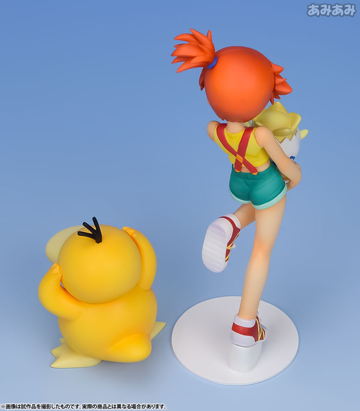 G.E.M. Series - Pokemon: Misty & Togepi & Psyduck Complete Figure(Pre-order)G.E.M.シリーズ ポケットモンスター カスミ&トゲピー&コダック 完成品フィギュアScale Figure