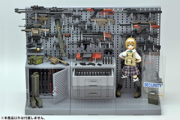 Little Armory LD006 1/12 Gun Rack B(Released)リトルアーモリー LD006 1/12 ガンラックBScale Figure