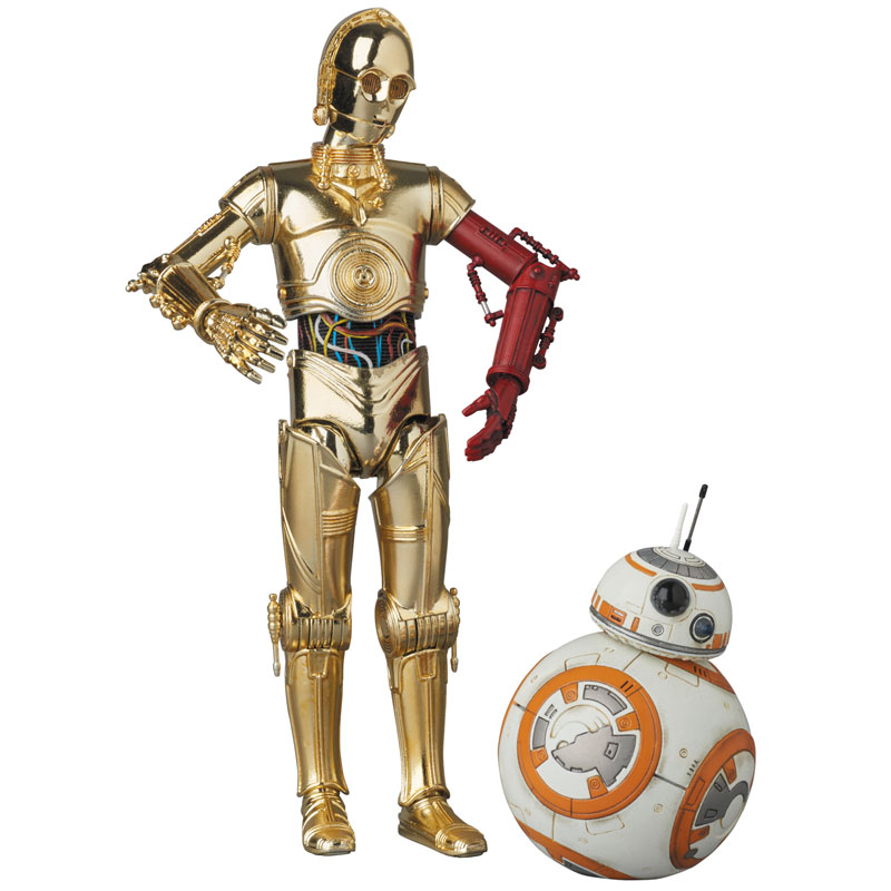 amiami character hobby shop mafex c 3po bb 8 star wars the force awakens released. Black Bedroom Furniture Sets. Home Design Ideas