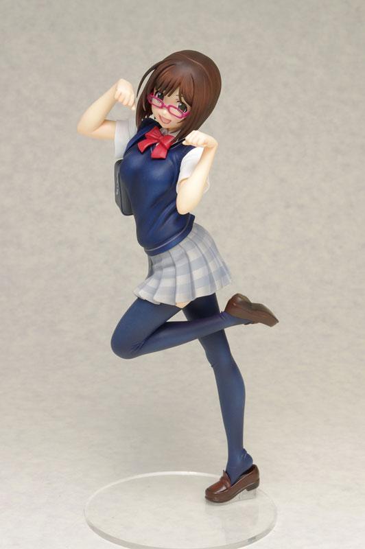 DreamTech - THE IDOLM@STER Cinderella Girls: Miku Maekawa [Uniform Ver.] 1/8 Complete Figure(Pre-order)ドリームテック アイドルマスター シンデレラガールズ 前川みく【制服Ver.】 1/8 完成品フィギュアScale Figure
