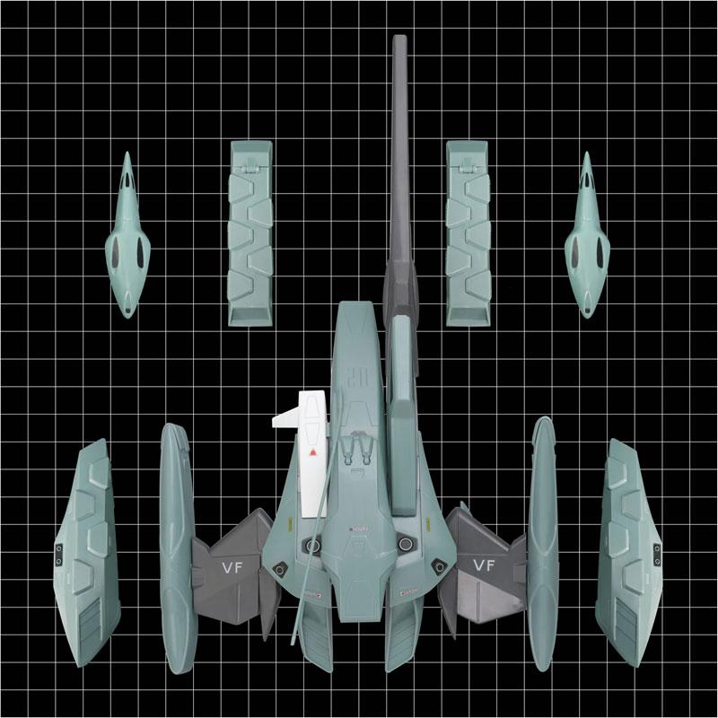 超時空要塞マクロスII-LOVERS AGAIN- 1/60 可変 VF-2SS バルキリーII用 スーパーアームドパック