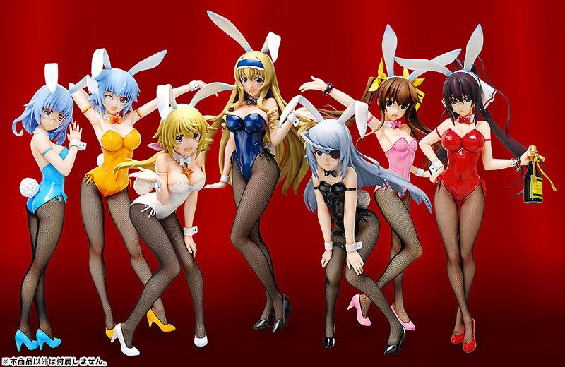 B STYLE Infinite Stratos: Houki Shinonono Bunny Ver. Complete Figure Pre order B STYLE IS Ver.Scale Figure