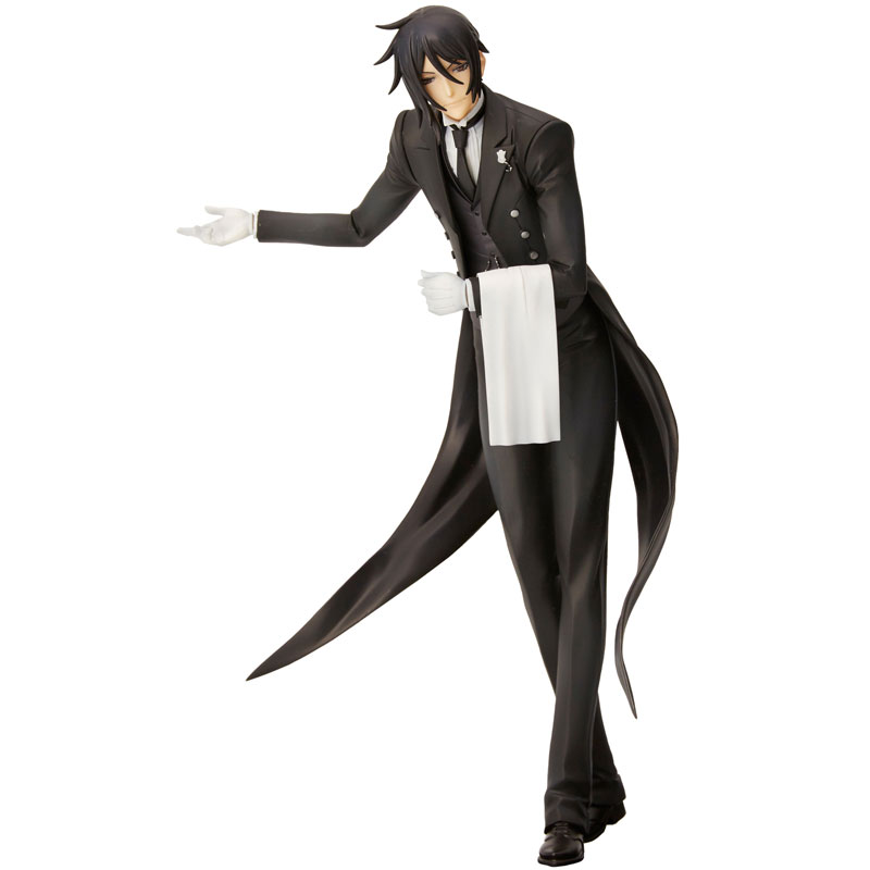 mensHdge technical statue No.19 Black Butler: Book of Circus - Sebastian Complete Figure(Pre-order)mensHdge technical statue No.19 黒執事 Book of Circus セバスチャン 完成品フィギュアScale Figure