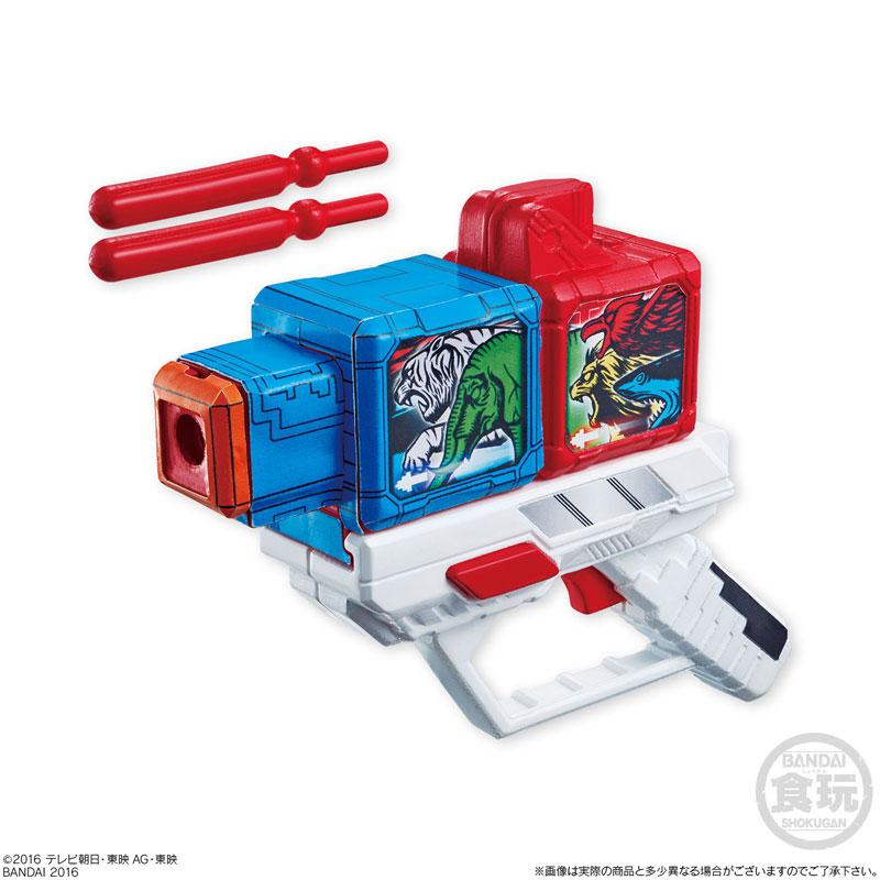 動物戦隊ジュウオウジャーキット 10個入りBOX(食玩)