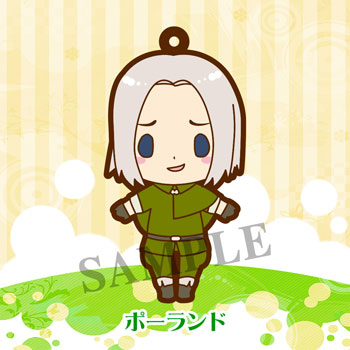es Series nino Rubber Strap Collection - Hetalia Part.3 Renewal ver. 8Pack BOX(Pre-order)esシリーズnino ラバーストラップコレクション ヘタリア3 リニューアルver. 8個入りBOXAccessory
