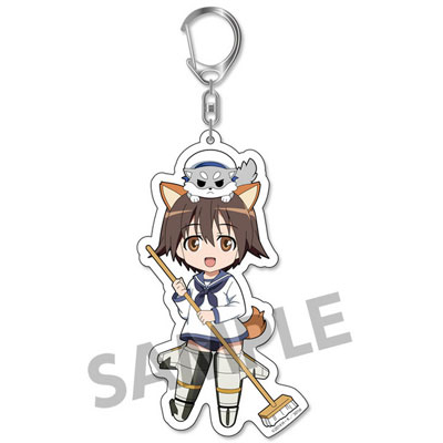 Pic-Lil! Strike Witches Operation Victory Arrow - Trading Acrylic Keychain vol.1 6Pack BOX(Pre-order)ぴくりる! ストライクウィッチーズ Operation Victory Arrow トレーディングアクリルキーホルダー vol.1 6個入りBOXAccessory
