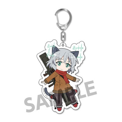 Pic-Lil! Strike Witches Operation Victory Arrow - Trading Acrylic Keychain vol.2 6Pack BOX(Pre-order)ぴくりる! ストライクウィッチーズ Operation Victory Arrow トレーディングアクリルキーホルダー vol.2 6個入りBOXAccessory