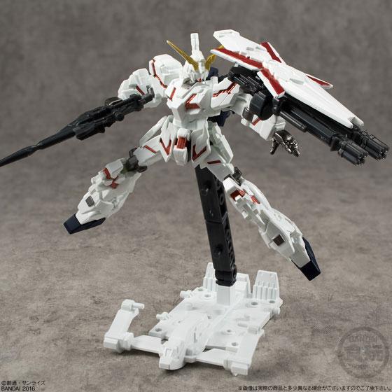 機動戦士ガンダム ASSAULT KINGDOM EX10 ユニコーンガンダム&バンシィ(食玩・仮称)