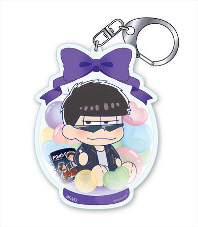 Pulish Osomatsu-san - Acrylic Keychain Present Balloon ver. Ichimatsu Jihen(Pre-order)ぷりっしゅ おそ松さん アクリルキーホルダー プレゼントバルーンver. 一松事変Accessory
