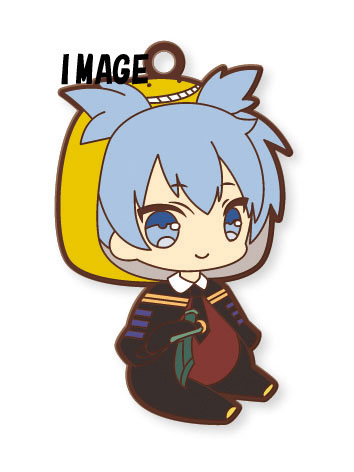 Eformed - Assassination Classroom PajaChara Rubber Strap 6Pack BOX(Pre-order)えふぉるめ 暗殺教室 パジャキャララバーストラップ 6個入りBOXAccessory