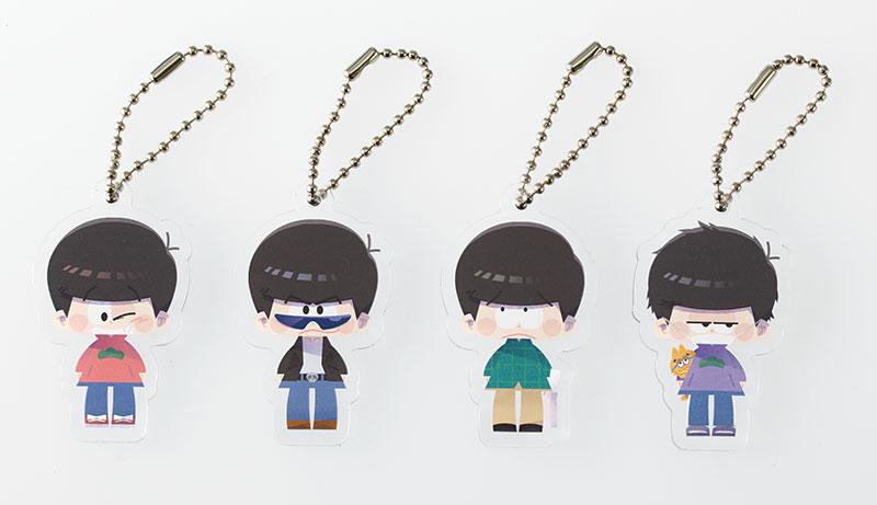 Koedarize A - Acrylic Keychain Collection Osomatsu-san 8Pack BOX(Pre-order)こえだらいずA アクリルキーホルダーコレクション おそ松さん 8個入りBOXAccessory