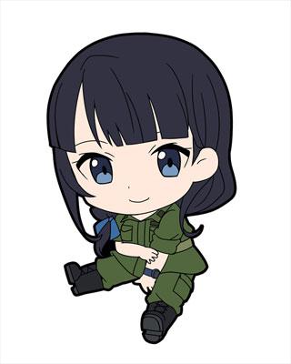 GATE: Jieitai Kanochi nite, Kaku Tatakaeri - Petanko Trading Rubber Strap 8Pack BOX(Pre-order)GATE 自衛隊 彼の地にて、斯く戦えり ぺたん娘 トレーディングラバーストラップ 8個入りBOXAccessory