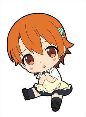 WORKING!!! - Petanko Trading Rubber Strap 10Pack BOX(Pre-order)WORKING!!! ぺたん娘トレーディングラバーストラップ 10個入りBOXAccessory
