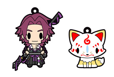 D4 Touken Ranbu Online - Rubber Strap Collection Vol.6 6Pack BOX(Pre-order)D4 刀剣乱舞-ONLINE- ラバーストラップコレクション Vol.6 6個入りBOXAccessory
