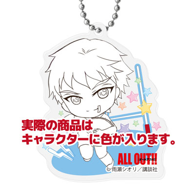 ALL OUT!! - Deformed Acrylic Mascot 6Pack BOX(Pre-order)ALL OUT!! デフォルメアクリルマスコット 6個入りBOXAccessory