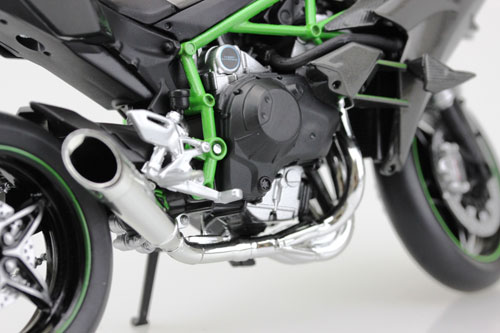 1/12 Complete Motorcycle Model Kawasaki Ninja H2R(Released)1/12 完成品バイク Kawasaki Ninja H2RAccessory