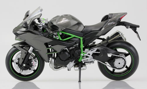 1/12 Complete Motorcycle Model Kawasaki Ninja H2(Released)1/12 完成品バイク Kawasaki Ninja H2Accessory