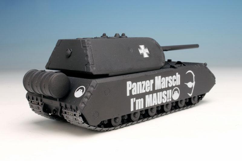 アリストトリスト×ガールズ&パンツァー 1/72 蝶野正洋 超重戦車級王者 マウス プラモデル