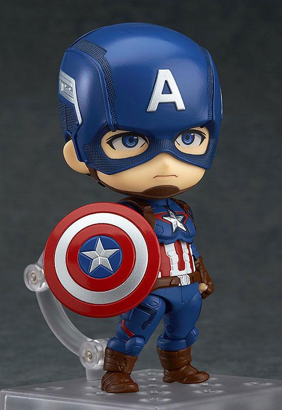 Nendoroid - The Avengers Age of Ultron: Captain America Hero's Edition(Pre-order)ねんどろいど アベンジャーズ エイジ・オブ・ウルトロン キャプテン・アメリカ ヒーローズ・エディションNendoroid