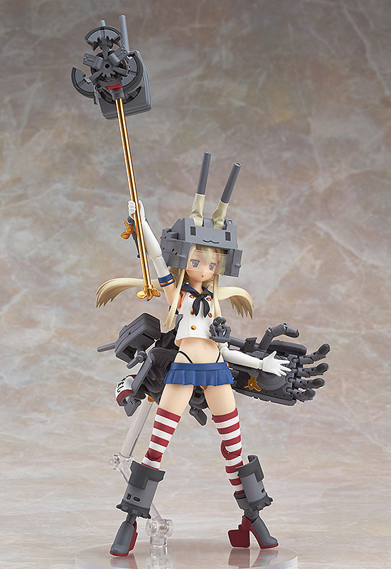 Kantai Collection -Kan Colle- Alloy Shimakaze Posable Figure(Pre-order)艦隊これくしょん ‐艦これ‐ 合金島風 可動フィギュアScale Figure