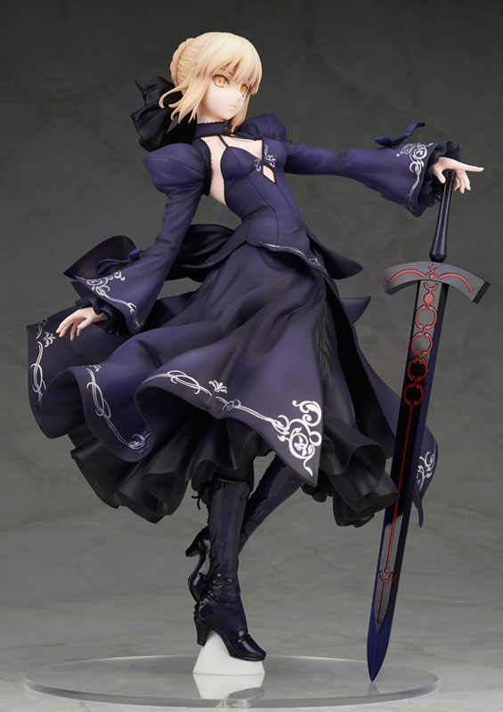 【新品介紹】【Alter】Fate/Grand Order Saber/Altria Pendragon[Alter] Dress Ver. 1/7 PVC Figure - hyde -     囧HYDE囧の御宅部屋