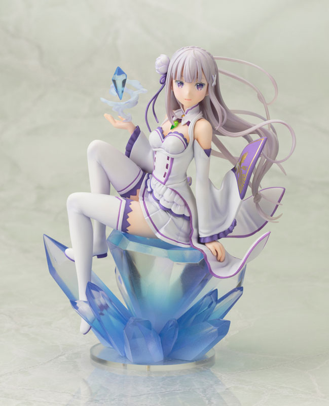 Re:ZERO -Starting Life in Another World- Emilia 1/8 Complete Figure(Pre-order)Re:ゼロから始める異世界生活 エミリア 1/8 完成品フィギュアScale Figure