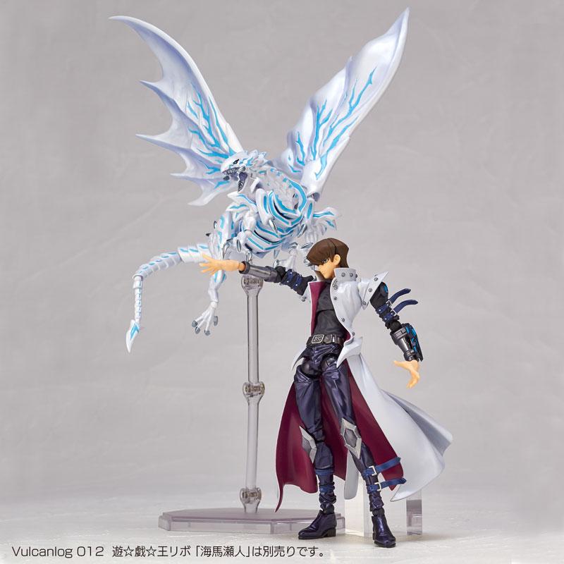 Vulcanlog 013 Yu-Gi-Oh Revo - Blue-Eyes Alternative White Dragon(Pre-order)Vulcanlog(ヴァルカン-ログ) 013 遊&#x2606戯&#x2606王リボ ブルーアイズ・オルタナティブ・ホワイト・ドラゴン 青眼の亜白龍Scale Figure