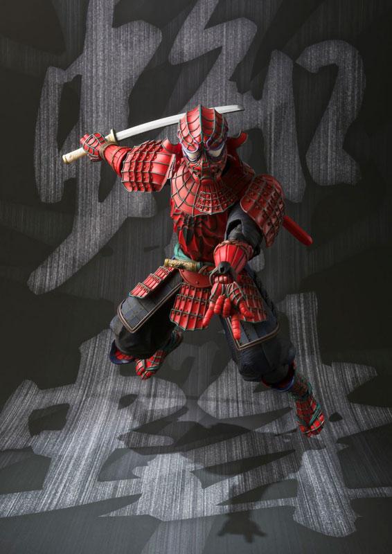 Meishou MANGA REALIZATION - Samurai Spider-Man(Pre-order)名将MANGA REALIZATION 侍スパイダーマンScale Figure