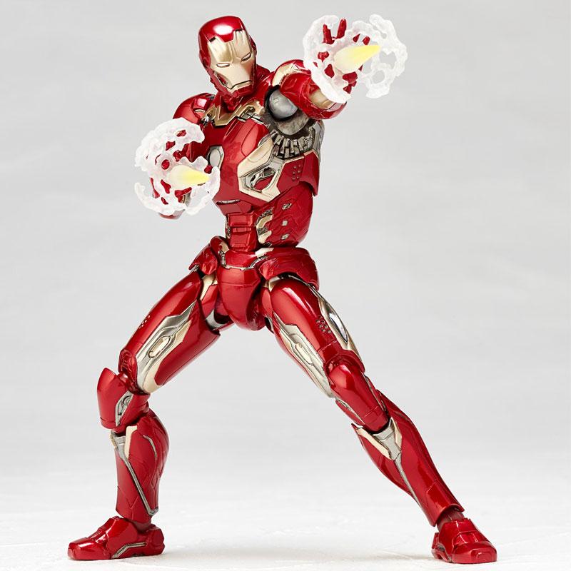 Figure Complex MOVIE REVO Series No.004 Iron Man Mark 45(Pre-order)フィギュアコンプレックス MOVIE REVO Series No.004 アイアンマン マーク45Scale Figure
