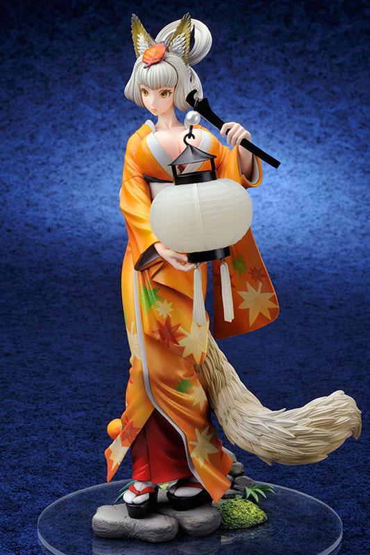 Oboro Muramasa - Kongiku 1/8 Complete Figure(Pre-order)朧村正 紺菊 1/8 完成品フィギュアScale Figure