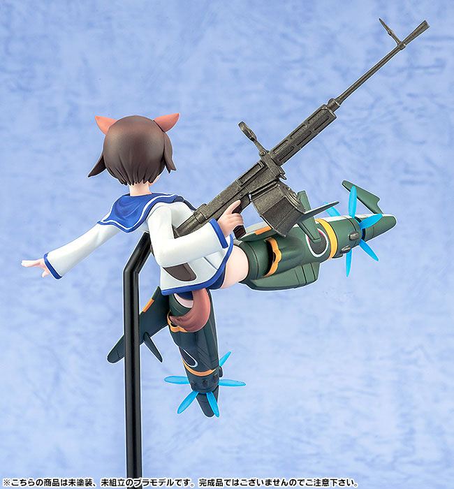 PLAMAX MF-05 minimum factory - Strike Witches the Movie: Yoshika Miyafuji 1/20 Plastic Model(Pre-order)PLAMAX MF-05 minimum factory ストライクウィッチーズ 劇場版 宮藤芳佳 1/20 プラモデルScale Figure