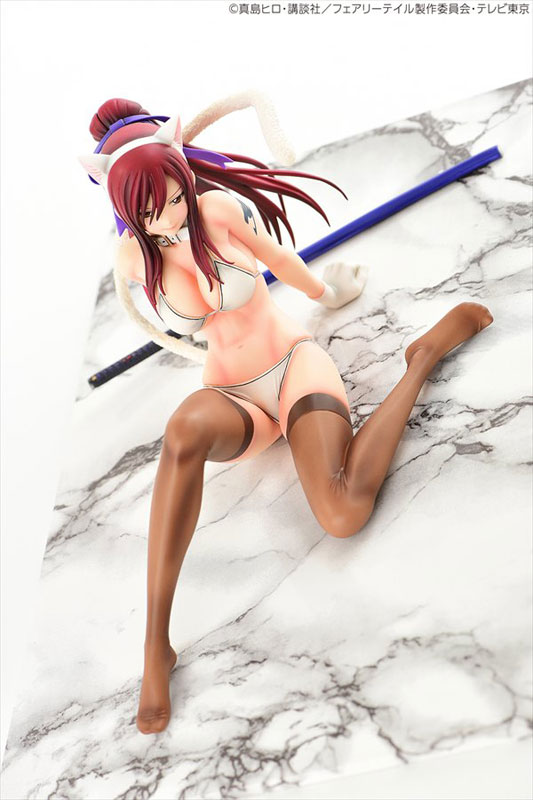 FAIRY TAIL - Erza Scarlet White Cat Gravure_Style 1/6 Complete Figure(Pre-order)FAIRY TAIL エルザ・スカーレット・白猫Gravure_Style 1/6 完成品フィギュアScale Figure