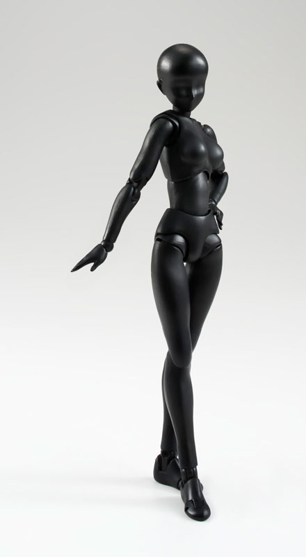 S.H. Figuarts - Body-chan (Solid black Color Ver.)(Pre-order)S.H.フィギュアーツ ボディちゃん(Solid black Color Ver.)Scale Figure
