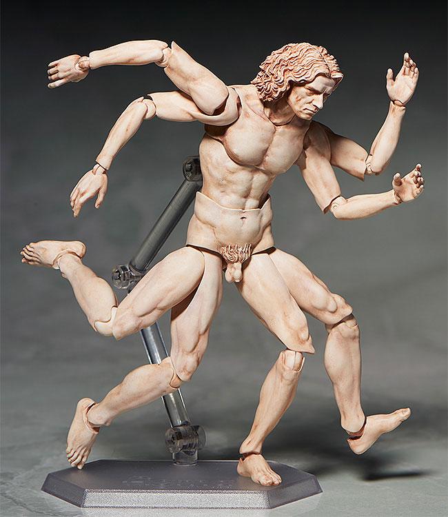 figma テーブル美術館 ウィトルウィウス的人体図[フリーイング]