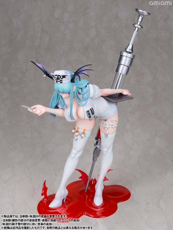 Capcom Figure Builder Creator's Model - Darkstalkers Morrigan Aensland (Nurse Ver.) Complete Figure(Pre-order)カプコンフィギュアビルダー クリエイターズモデル ヴァンパイア モリガン・アーンスランド ナースVer. 完成品フィギュアScale Figure