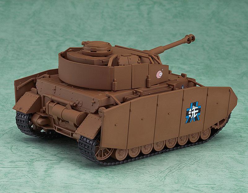 Nendoroid More - Girls und Panzer: Panzer IV Ausf. D (H-Model)(Pre-order)ねんどろいどもあ ガールズ&パンツァー IV号戦車D型改(H型仕様)Nendoroid