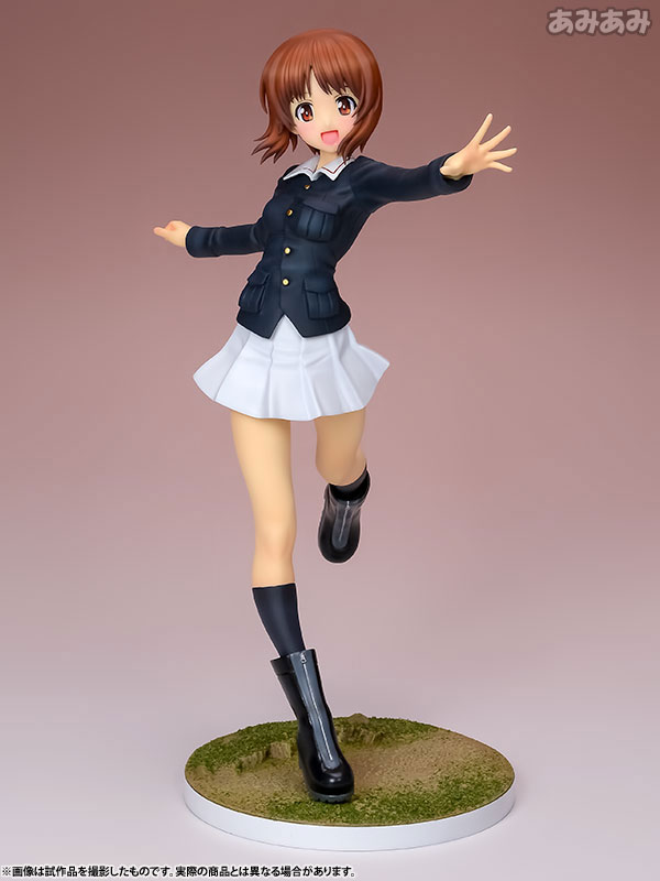 Girls und Panzer - Miho Nishizumi Panzer Jacket Ver. 1/8 Complete Figure(Pre-order)ガールズ&パンツァー 西住みほ パンツァージャケットVer. 1/8 完成品フィギュアScale Figure