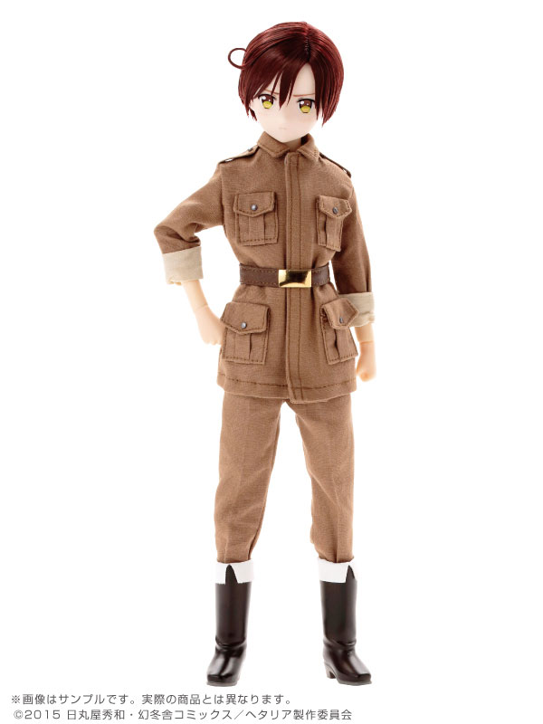 Asterisk Collection Series No.007 Hetalia The World Twinkle - Romano 1/6 Complete Doll(Pre-order)アスタリスクコレクションシリーズ No.007 ヘタリア The World Twinkle ロマーノ 1/6 完成品ドールAccessory