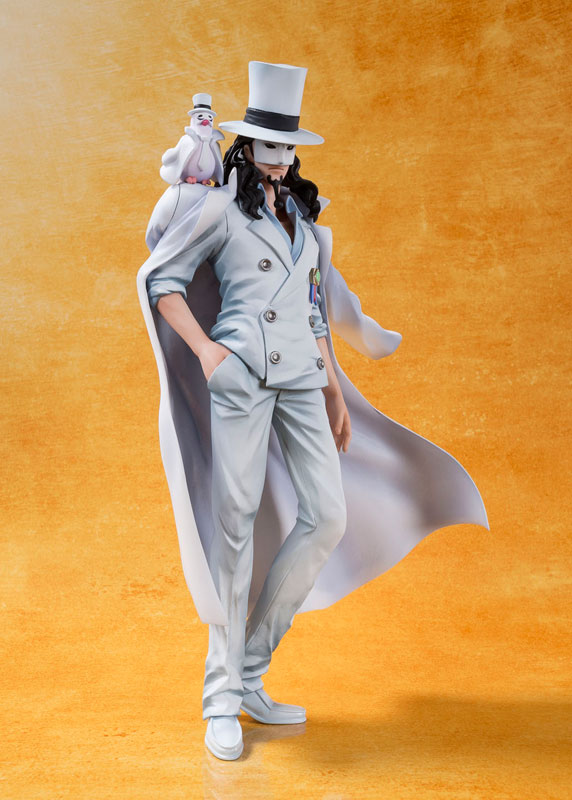 Figuarts ZERO - Rob Lucci -ONE PIECE FILM GOLD Ver.-