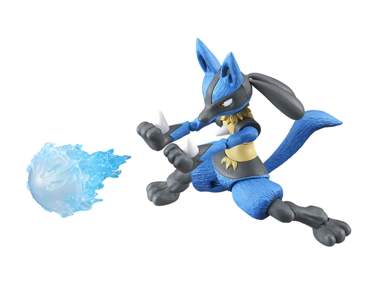 Variable Action Heroes - POKKEN TOURNAMENT: Lucario Action Figure(Pre-order)ヴァリアブルアクションヒーローズ ポッ拳 POKKEN TOURNAMENT ルカリオ アクションフィギュアScale Figure