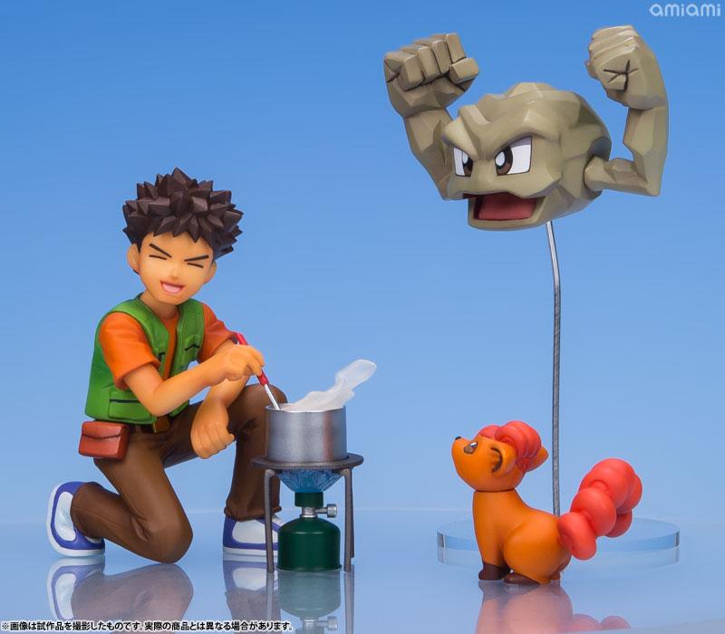 G.E.M. Series - Pokemon: Brock & Geodude & Vulpix Complete Figure(Pre-order)G.E.M.シリーズ ポケットモンスター タケシ&イシツブテ&ロコン 完成品フィギュアScale Figure