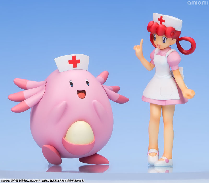 G.E.M. Series - Pokemon: Joy & Chansey Complete Figure(Pre-order)G.E.M.シリーズ ポケットモンスター ジョーイ&ラッキー 完成品フィギュアScale Figure