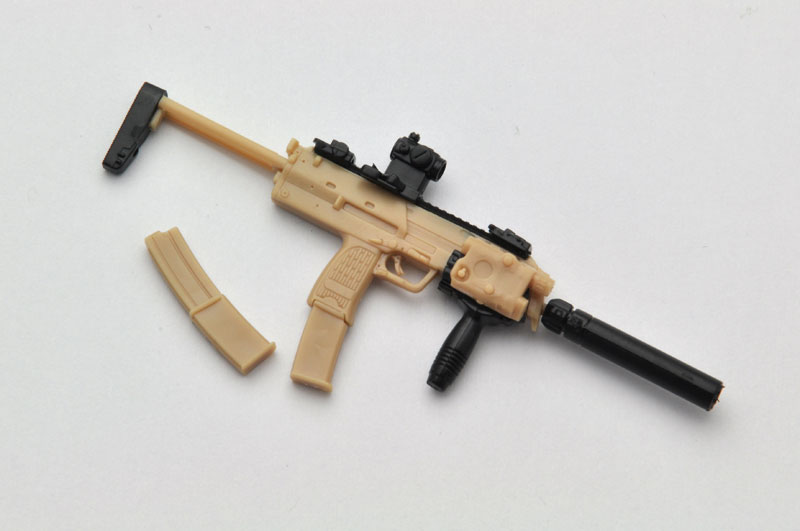 LittleArmory LA023 1/12 MP7A2 Type Plastic Model(Pre-order)リトルアーモリー LA023 1/12 MP7A2タイプ プラモデルScale Figure